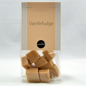 Vanille fudge i pose m/ top