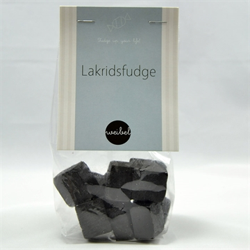 Lakrids fudge i pose m/ top