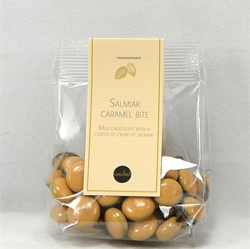 Salmiak caramel bite - lille top